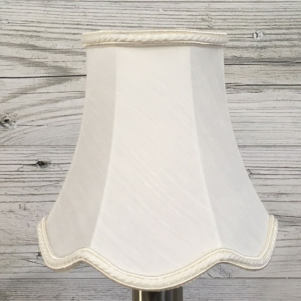 Scalloped Bowed Candle Shade